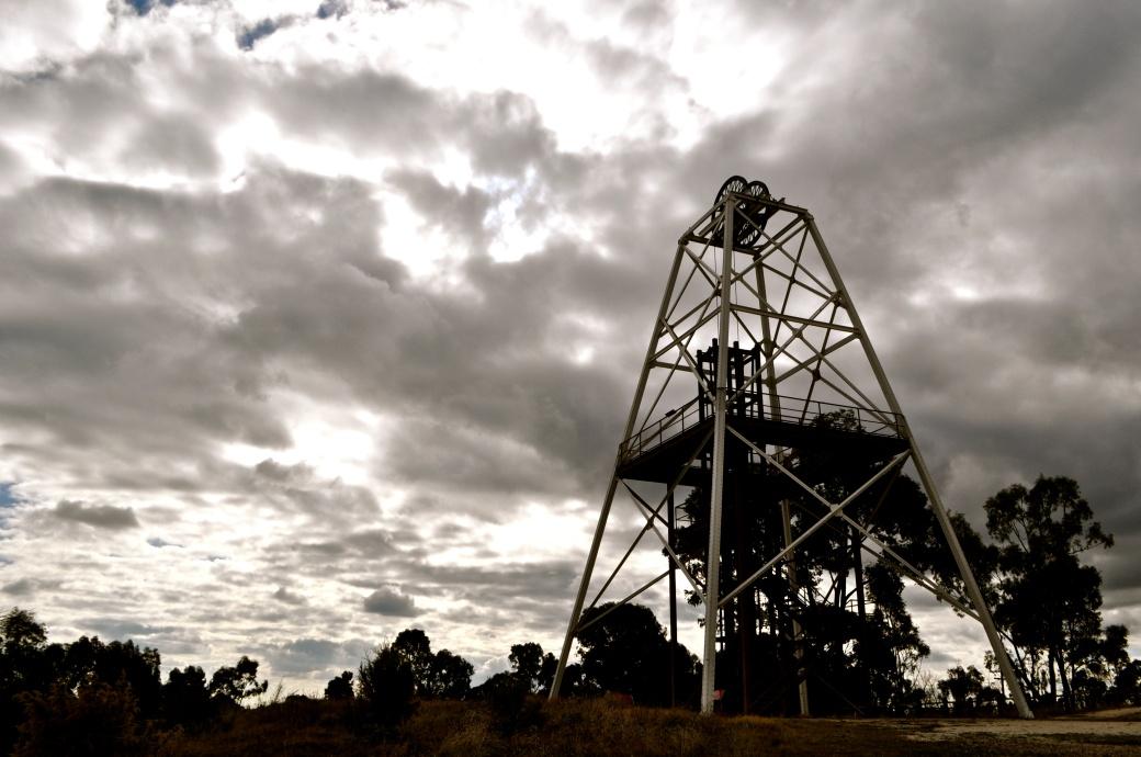 Old Bendigo Mines, Rural Victoria, Australia