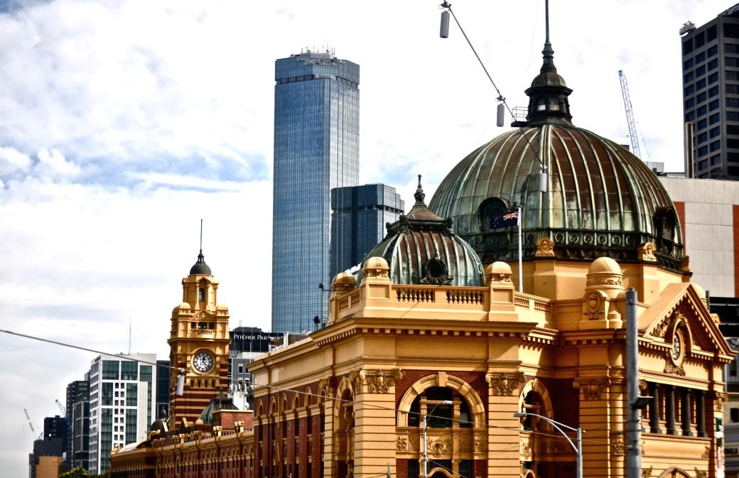 Flinder Street Station, Melbourne, Australia
